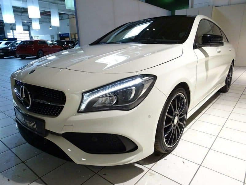 Mercedes-Benz CLA 220 d SB AMG LED NIGHT Toit panoramique Caméra