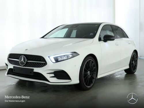 Mercedes-Benz A 220 AMG Pano Burmester Navi Premium LED Night