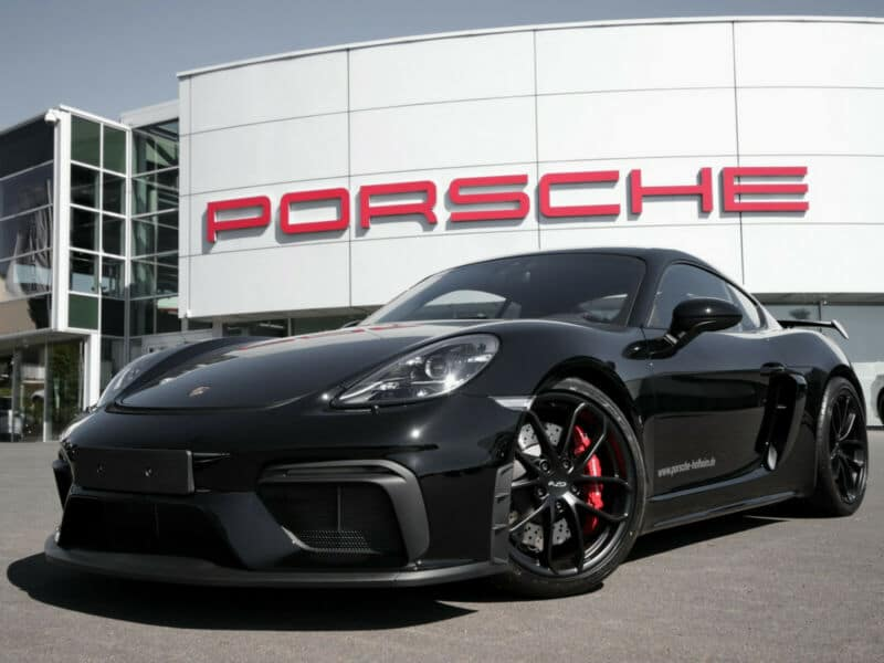 Porsche 718 Cayman GT4 LEDPlus Connect Carbon Limit