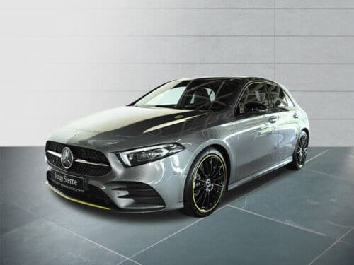 Mercedes-Benz A 250 AMG+Night+Edition1+Navi-MBUX+LED+Spurhalt